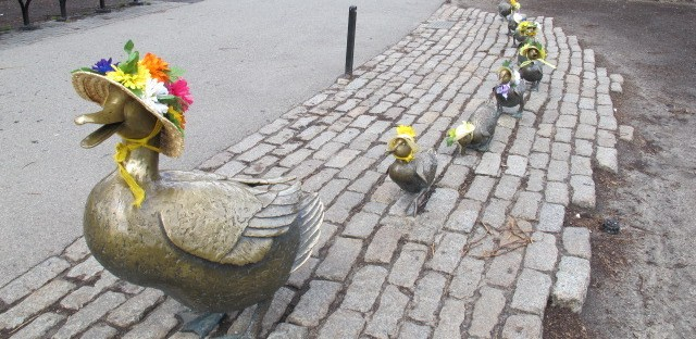 Make Way of Ducklings Turns 75